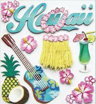 Jolee\u0027s Boutique Dimensional Stickers-Hawaii