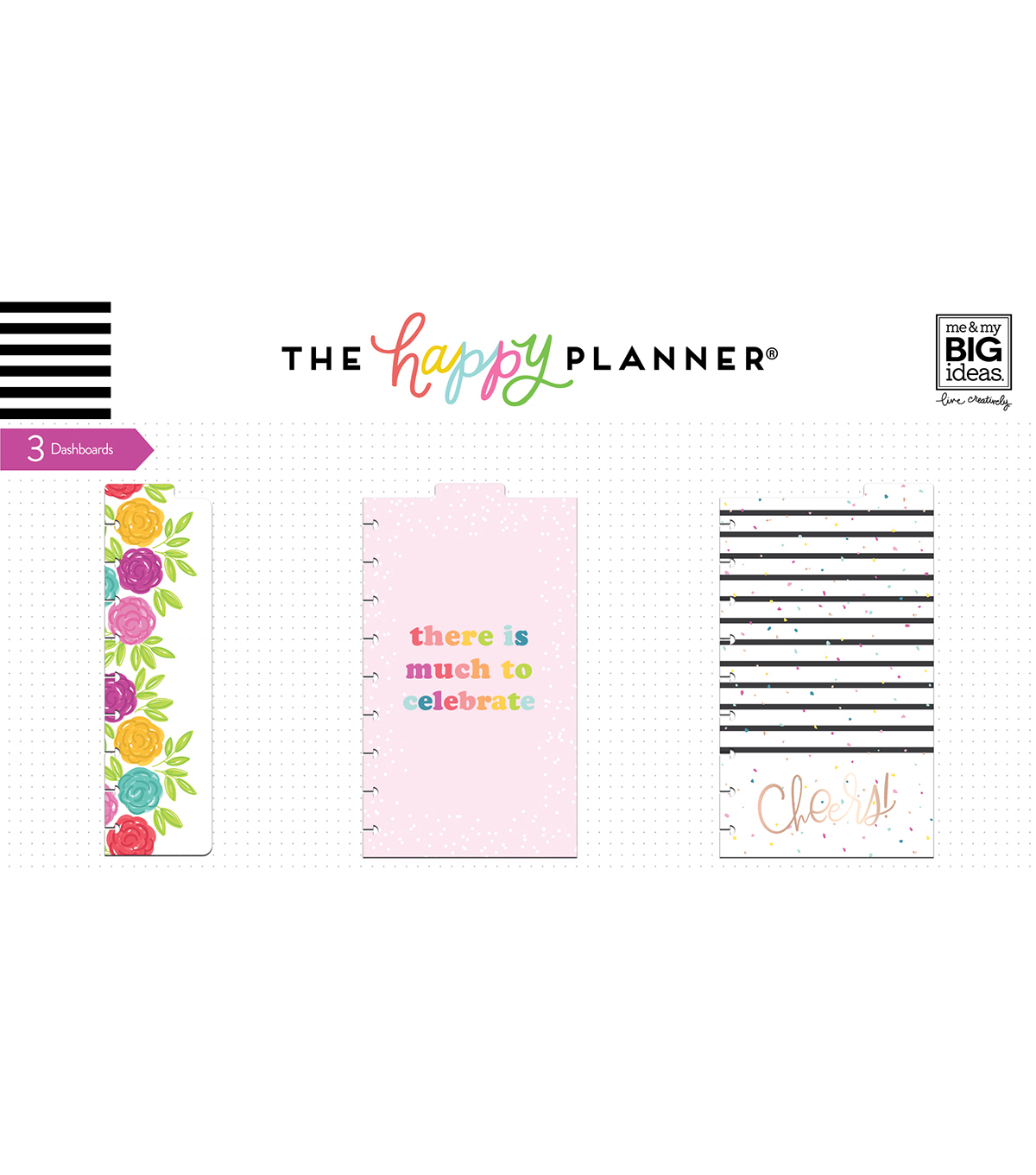 The Happy Planner Girl Classic Dashboard-Happy Hostess