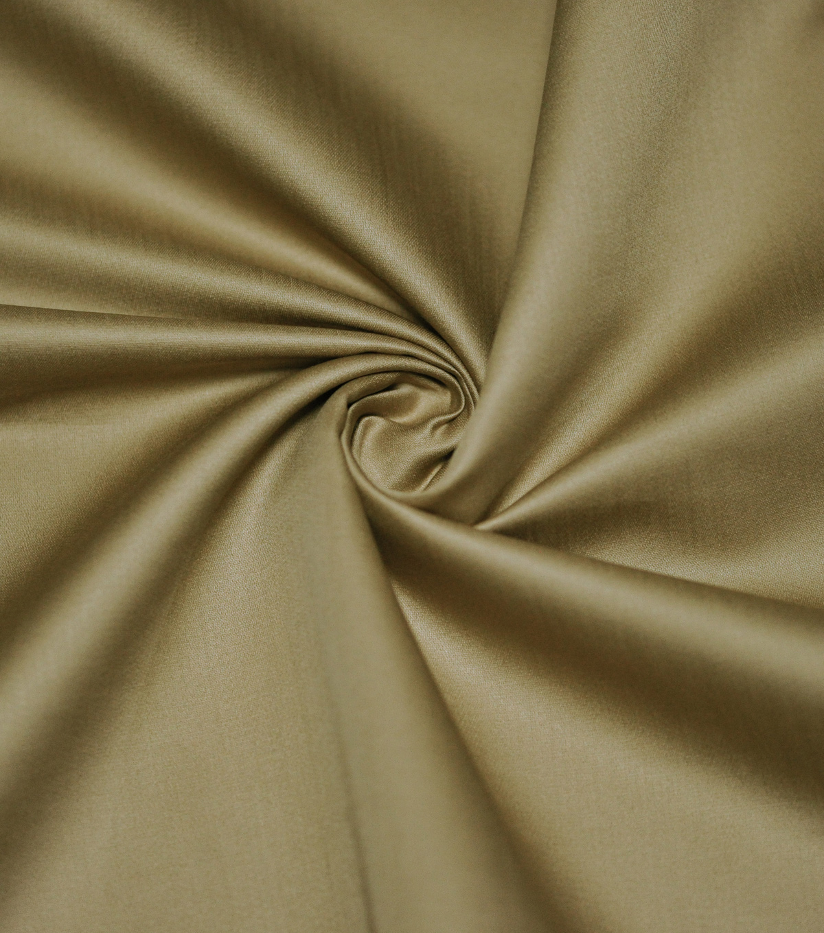Supima Sateen Cotton Fabric-Solids, Gravel Brown