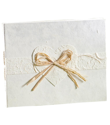 Wilton Natural Paper Guest Book