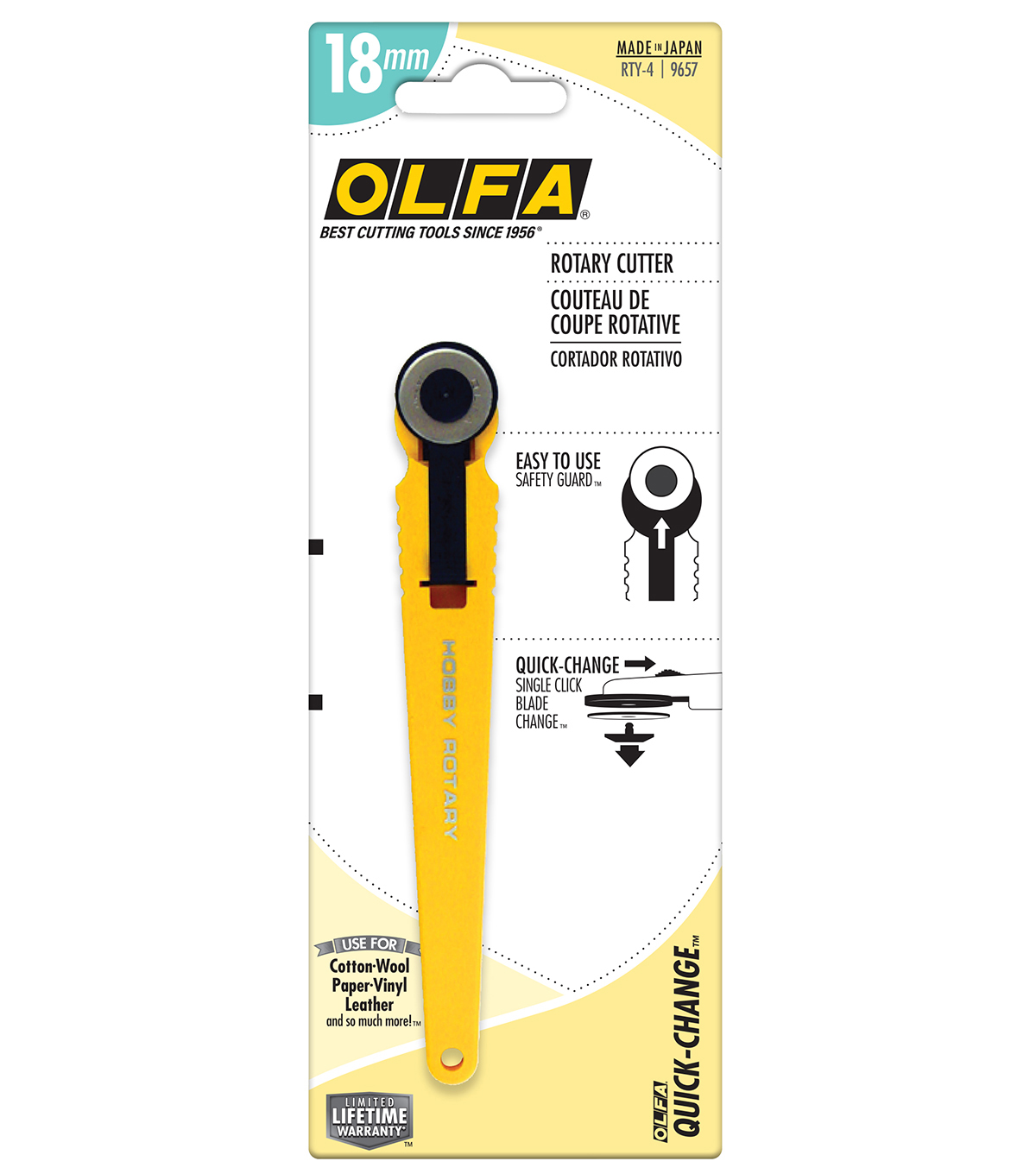 Olfa Rotary Cutter-18mm
