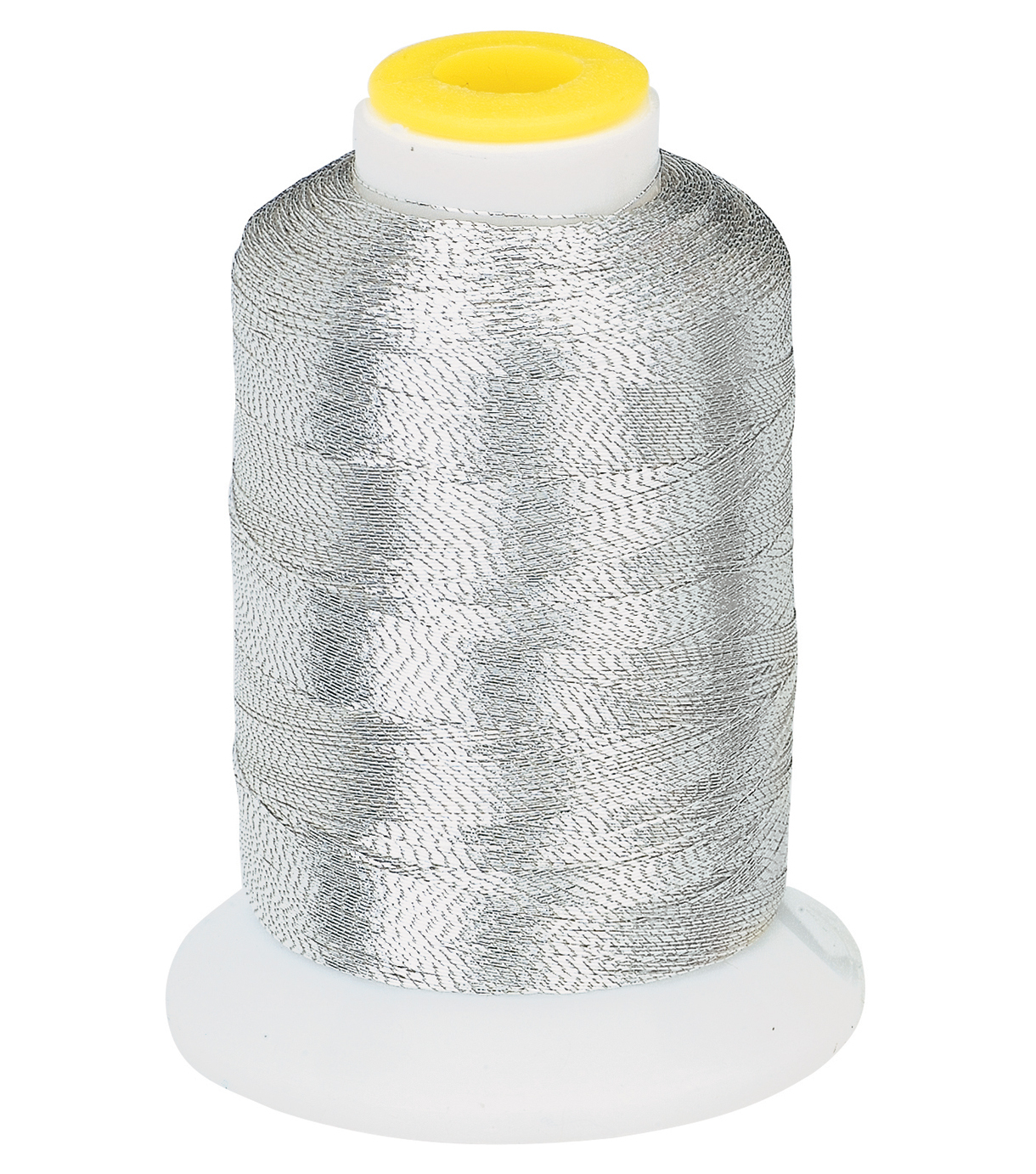 Coats & Clark Metallic Embroidery Thread, Metallic Silver Embroidery Thr
