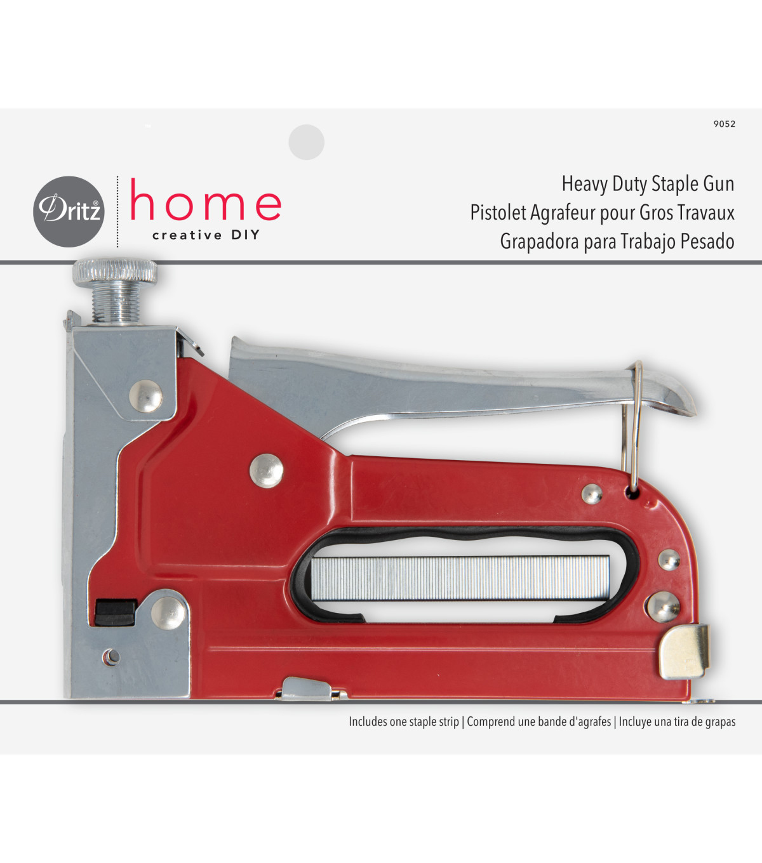 Dritz Home Heavy Duty Staple Gun 7 16 Joann