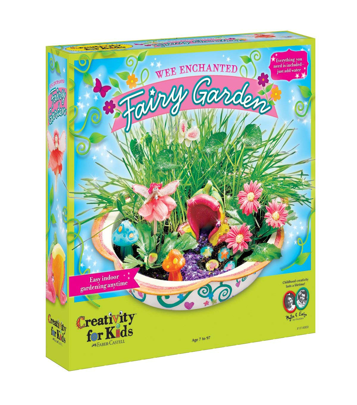 Creativity for Kids Kit-Enchanted Fairy Garden