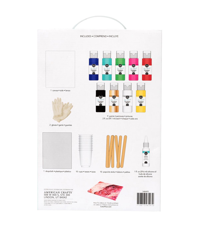 Art Essentials 6 Ready-Mixed Paint Set