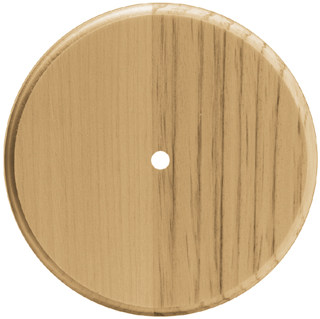Pine Wood Clock Face-4\u0022 Round - Use 700P Movement