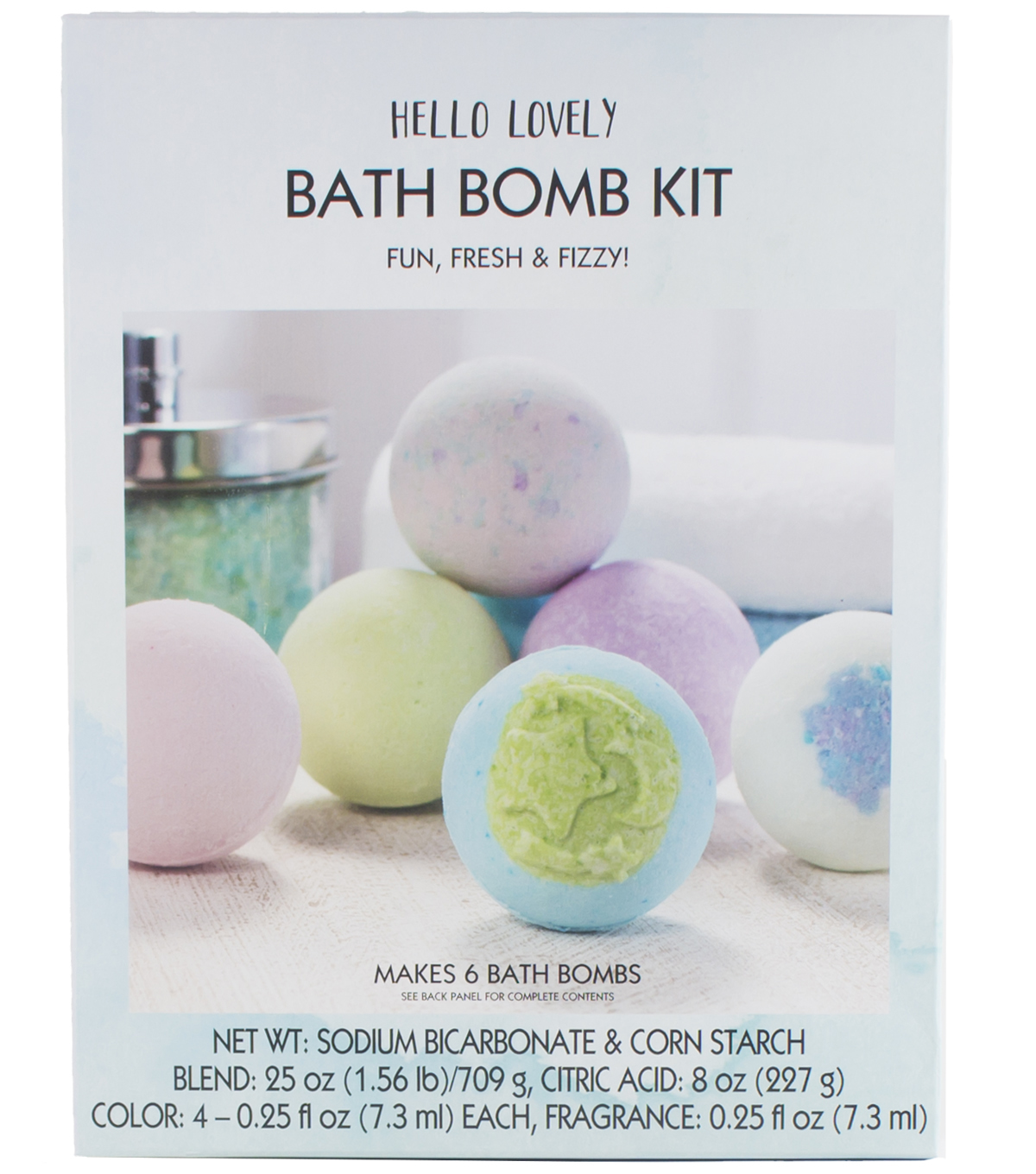 Hello Lovely Bath Bomb Kit