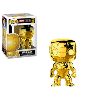 Pop! Marvel Iron Man-Chrome