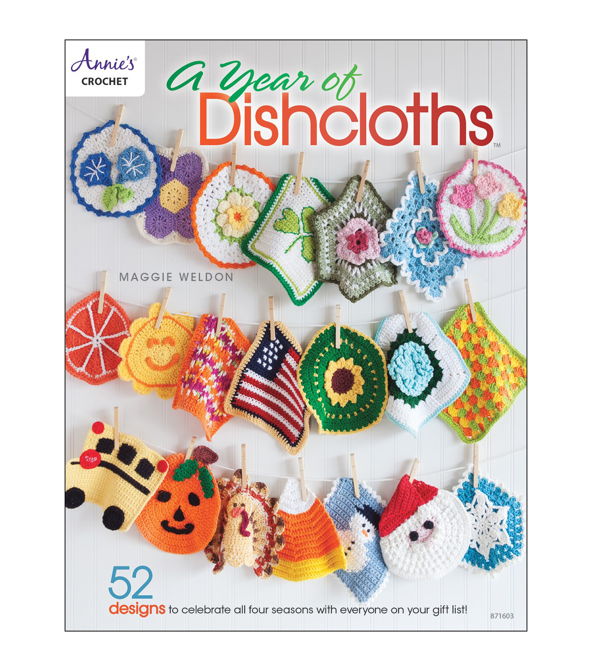 A Year of Dishcloths Book