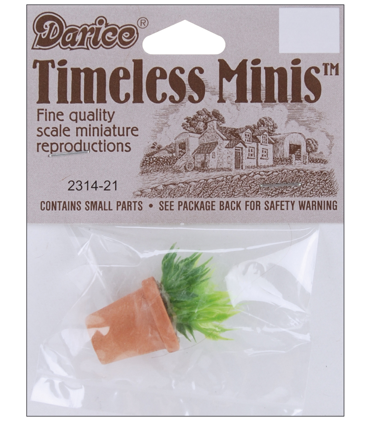 Darice Timeless Miniatures-House Plant