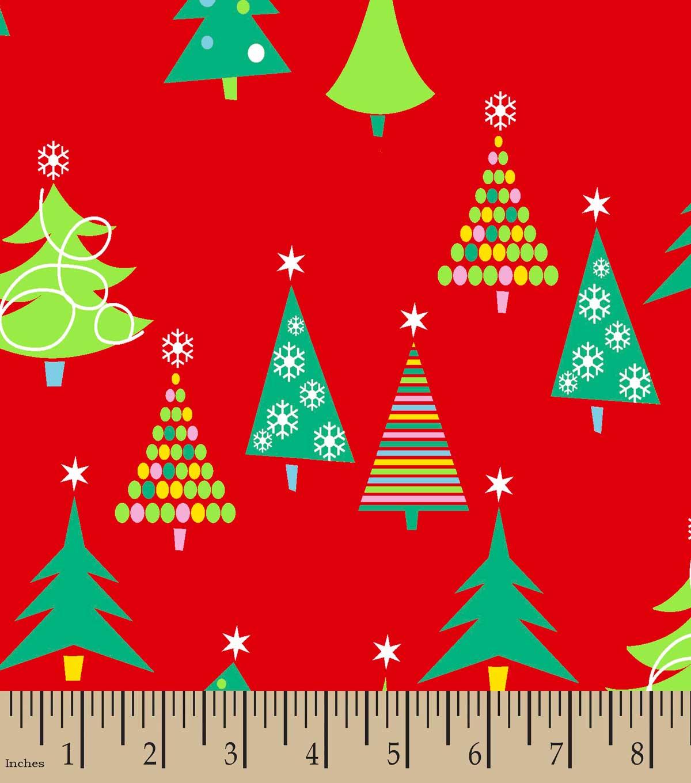 christmas trees print fabric - Joann Fabrics Christmas Decorations