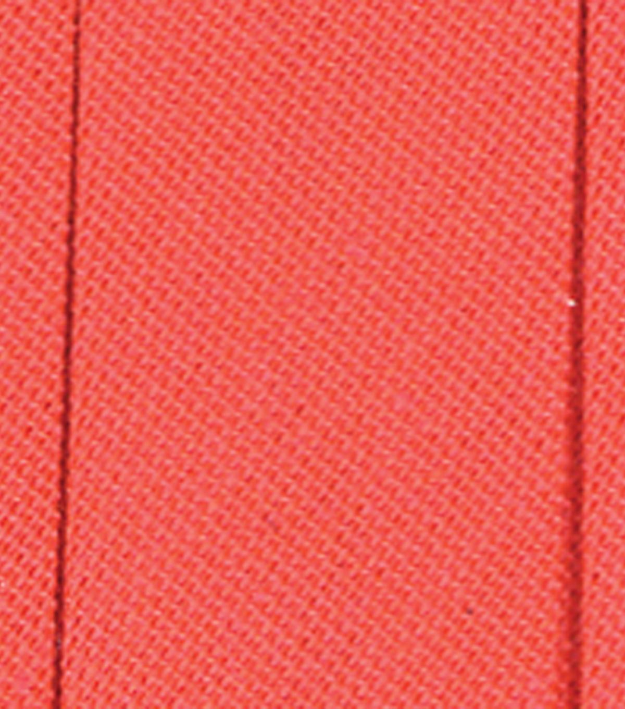"""10 Yards Neon Orange Bias binding 1 1//2/"""" wide Quilting Crafts Black Light Glows"""