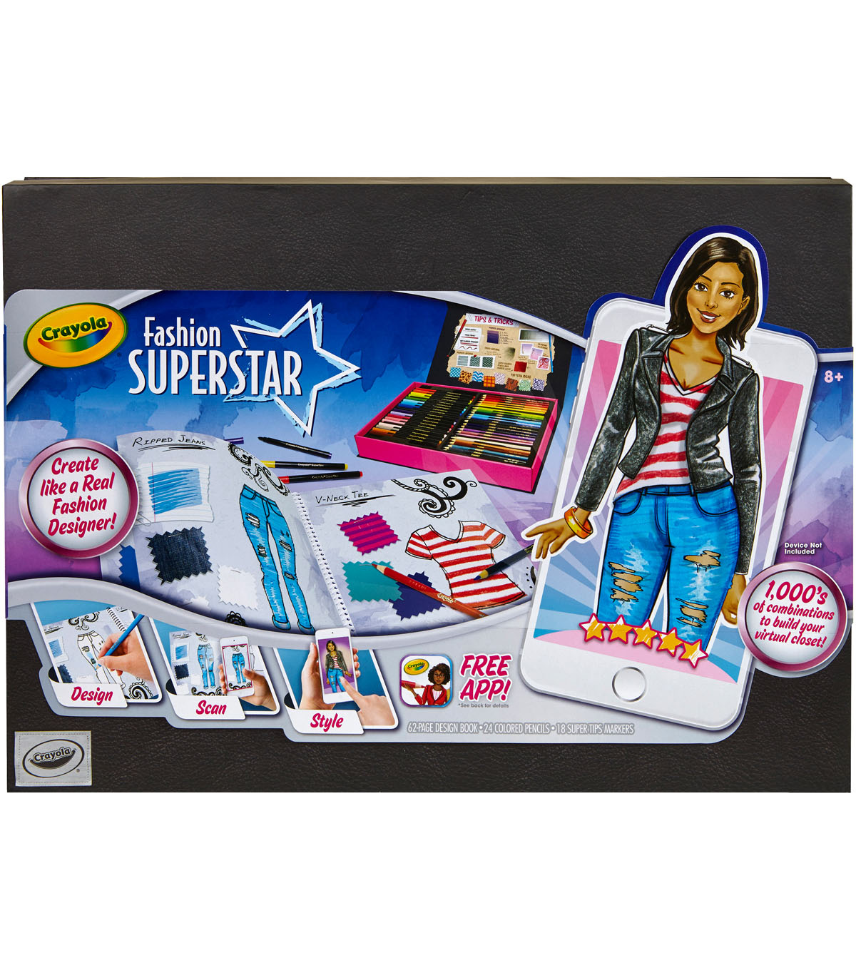 Crayola Fashion Superstar Designer Kit