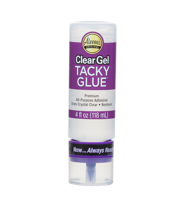 Aleene\u0027s Always Ready Clear Gel \u0022Tacky\u0022 Glue-4oz