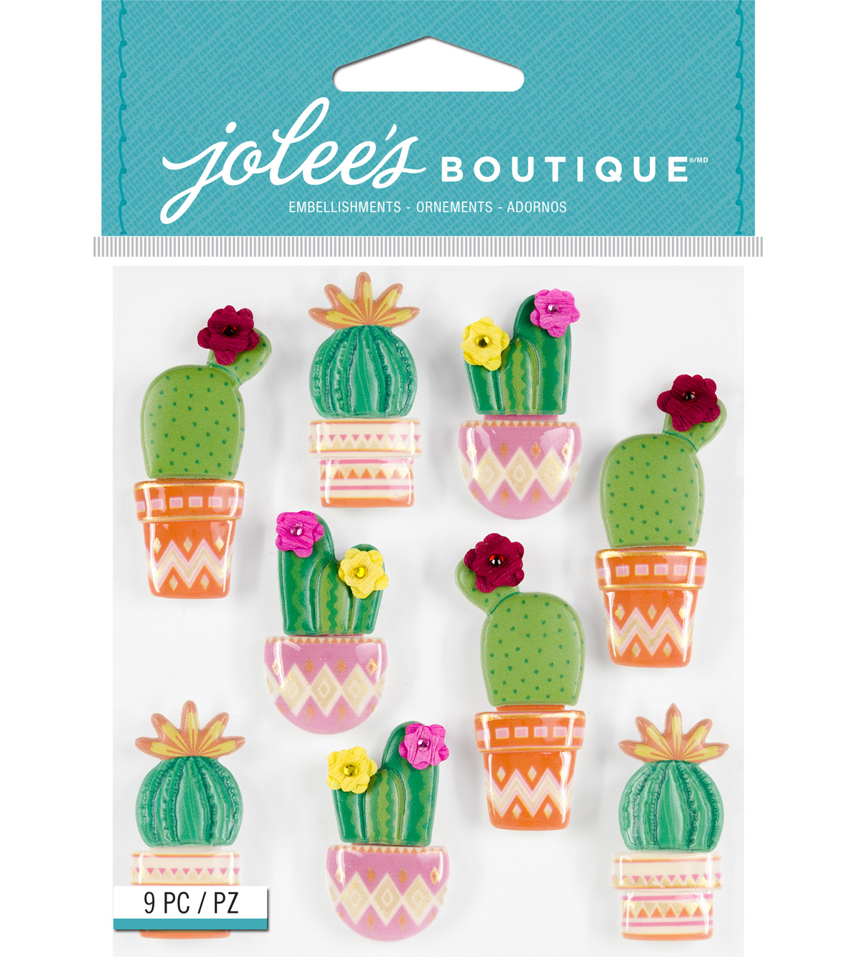 Jolee's Boutique Stickers-Cacti
