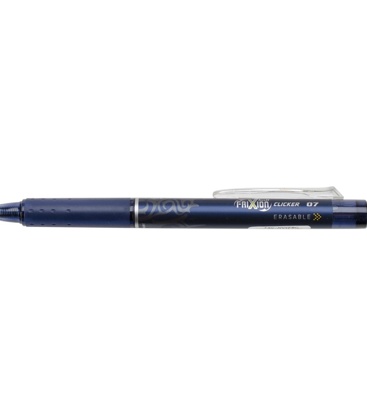 Pilot FriXion Fine Point Clicker Erasable Pen Open Stock-Navy