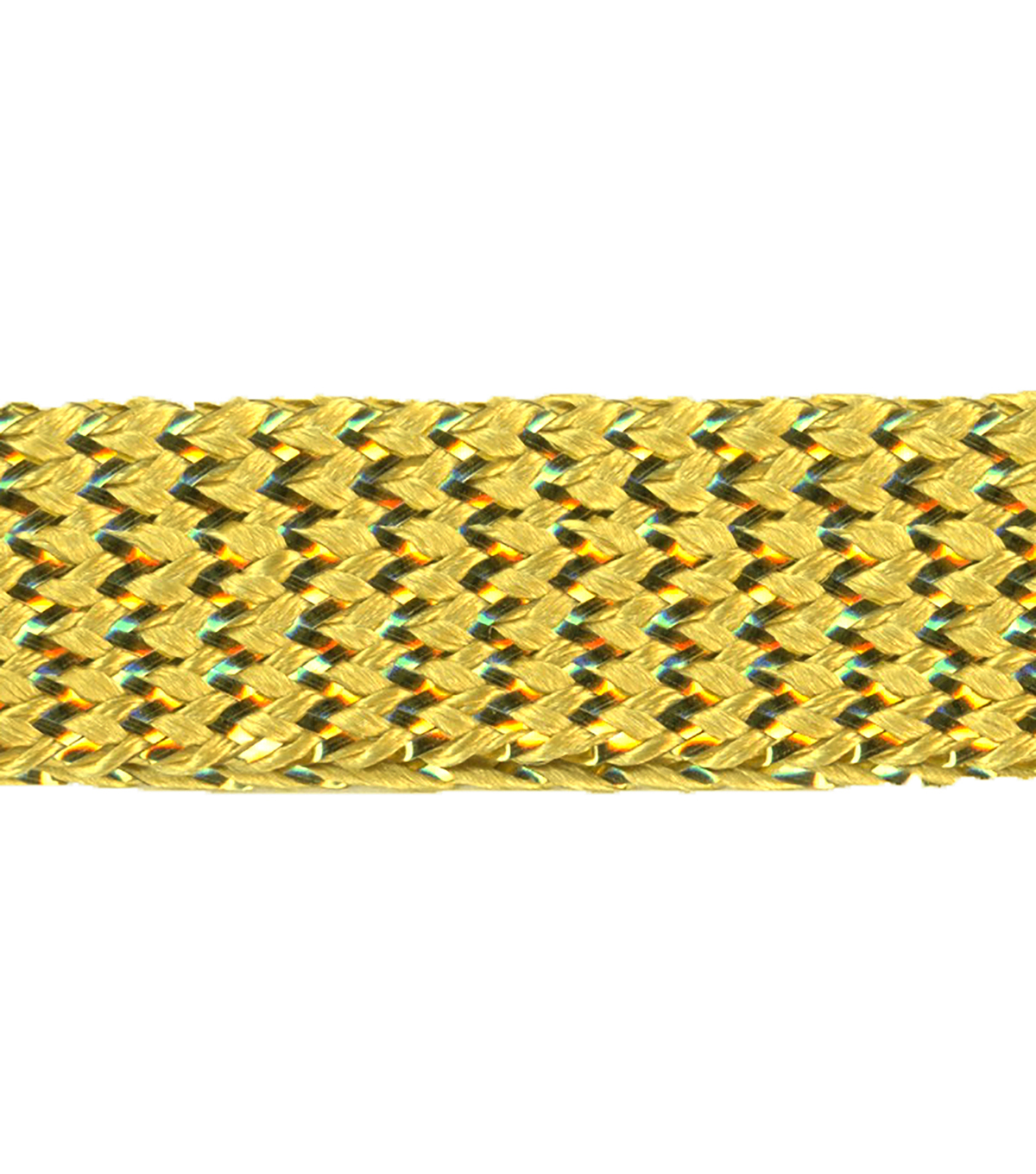 Simplicity Trims-7/16\u0022 Gold Metallic Braid