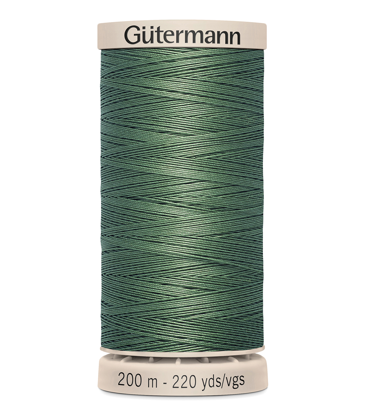 Gutermann Hand Quilting Thread 200 Meters (220 Yrds)-Primary, Forest Green #8724