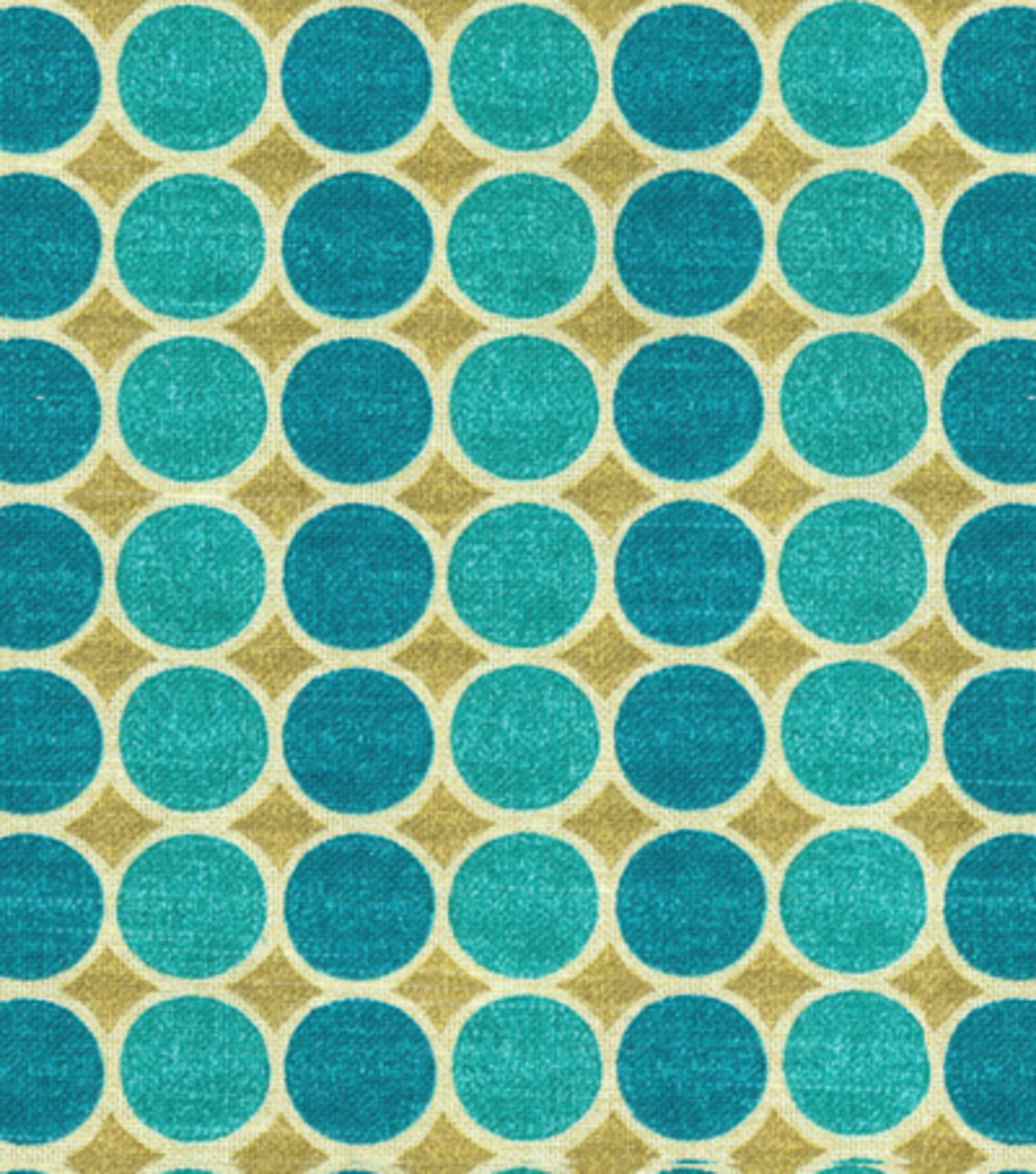 Home Decor 8\u0022x8\u0022 Fabric Swatch-HGTV HOME Round Trip Lagoon