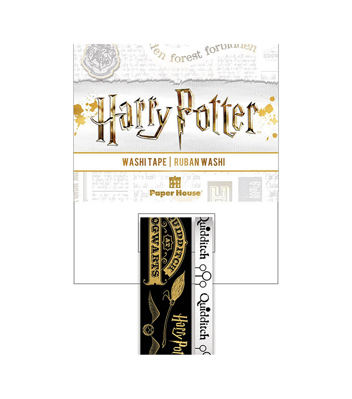 Paper House Washi Tape 2/Pkg-Harry Potter Quidditch