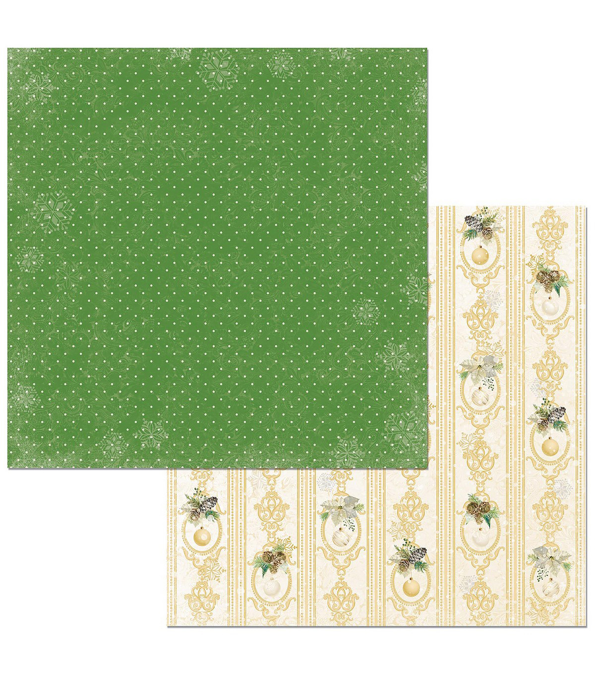 Christmas In The Village Double-Sided Cardstock 12\u0022X12\u0022-Carols