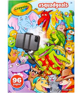 Crayola Coloring Book Squad Goals Joann