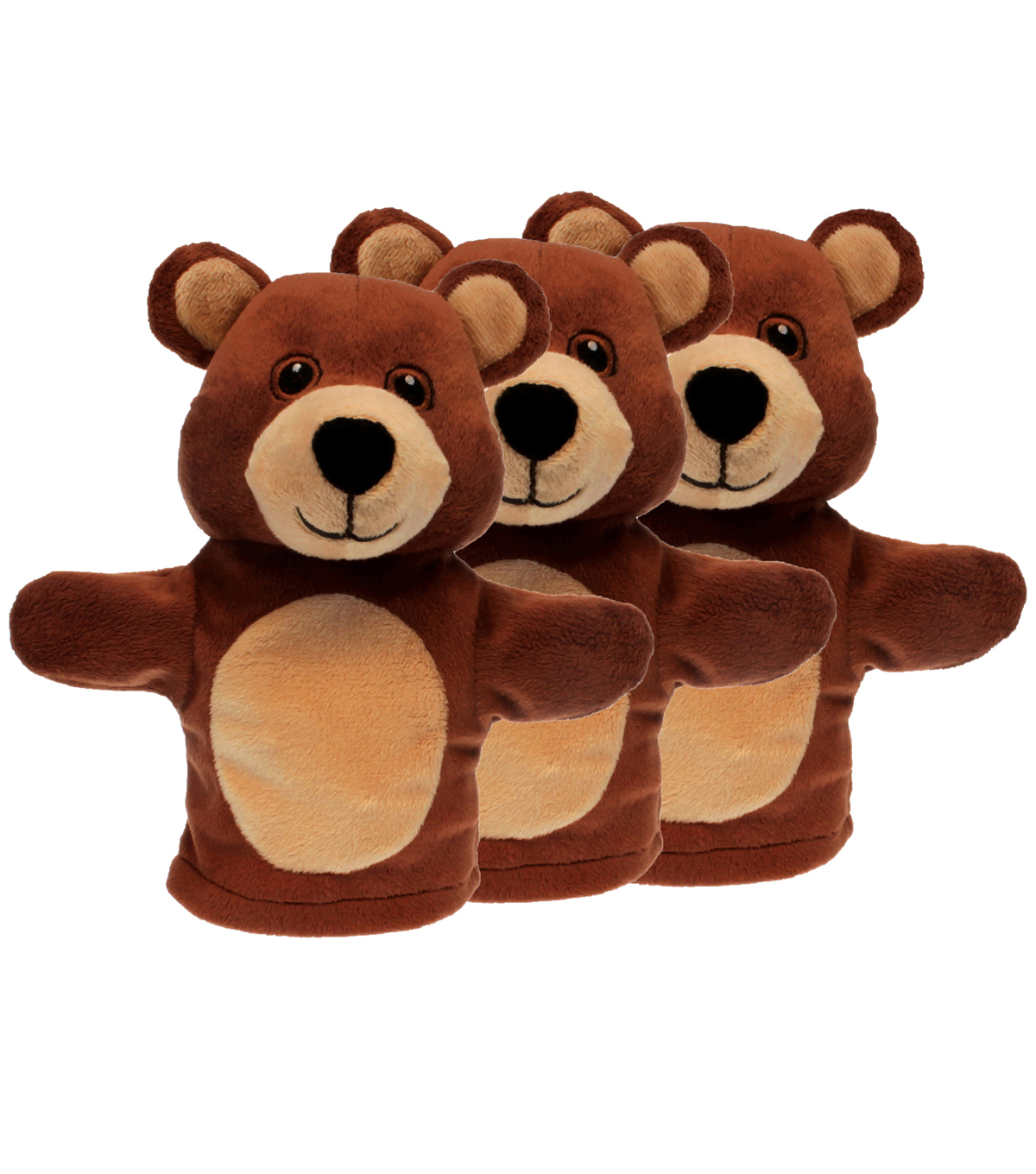 Bear - My First Puppets, Pack of 3