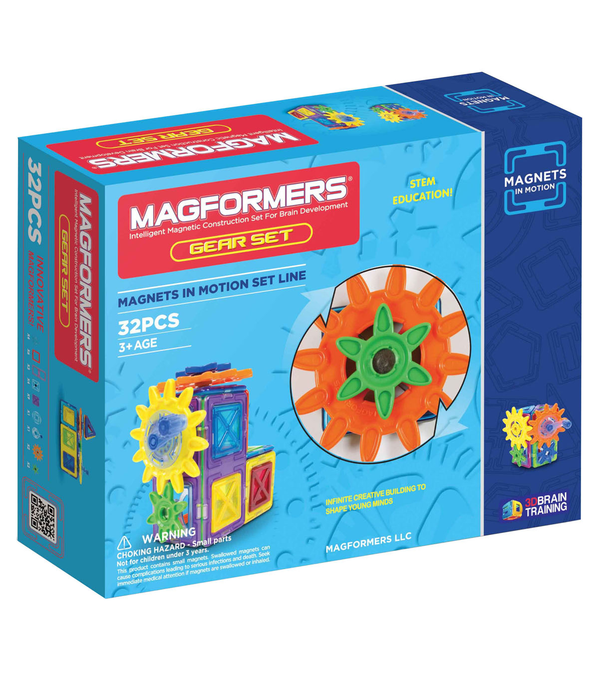 Magnets in Motion 32pc Gear Set