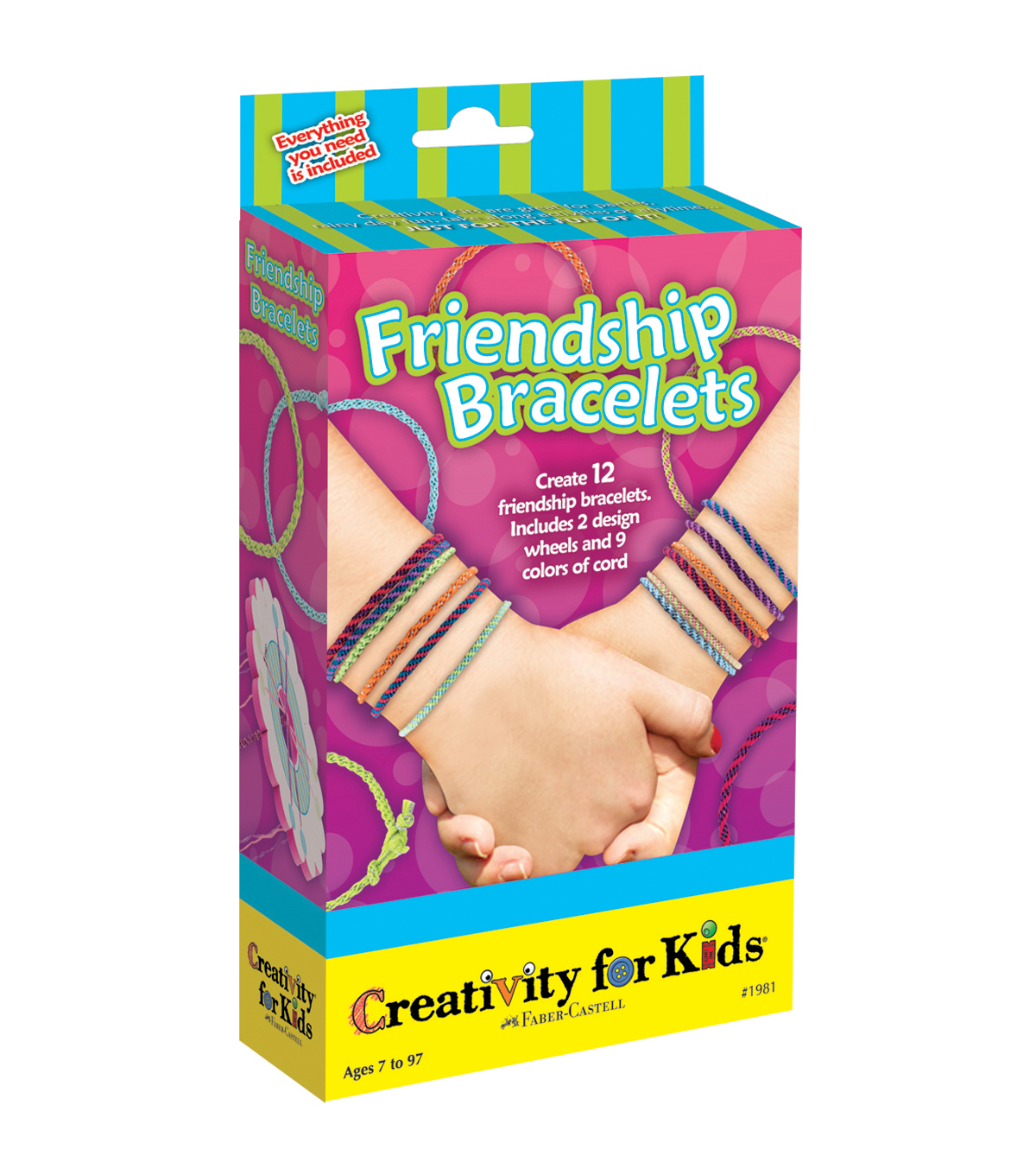 Creativity For KidsFriendship Bracelets Kit