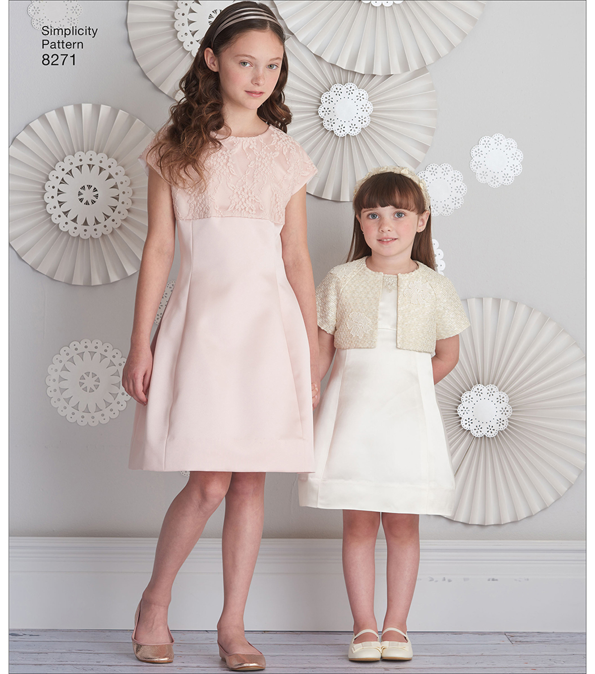 Simplicity Pattern 8271 Children\u0027s/Girls\u0027 Dress & Jacket-Size HH (3-6)