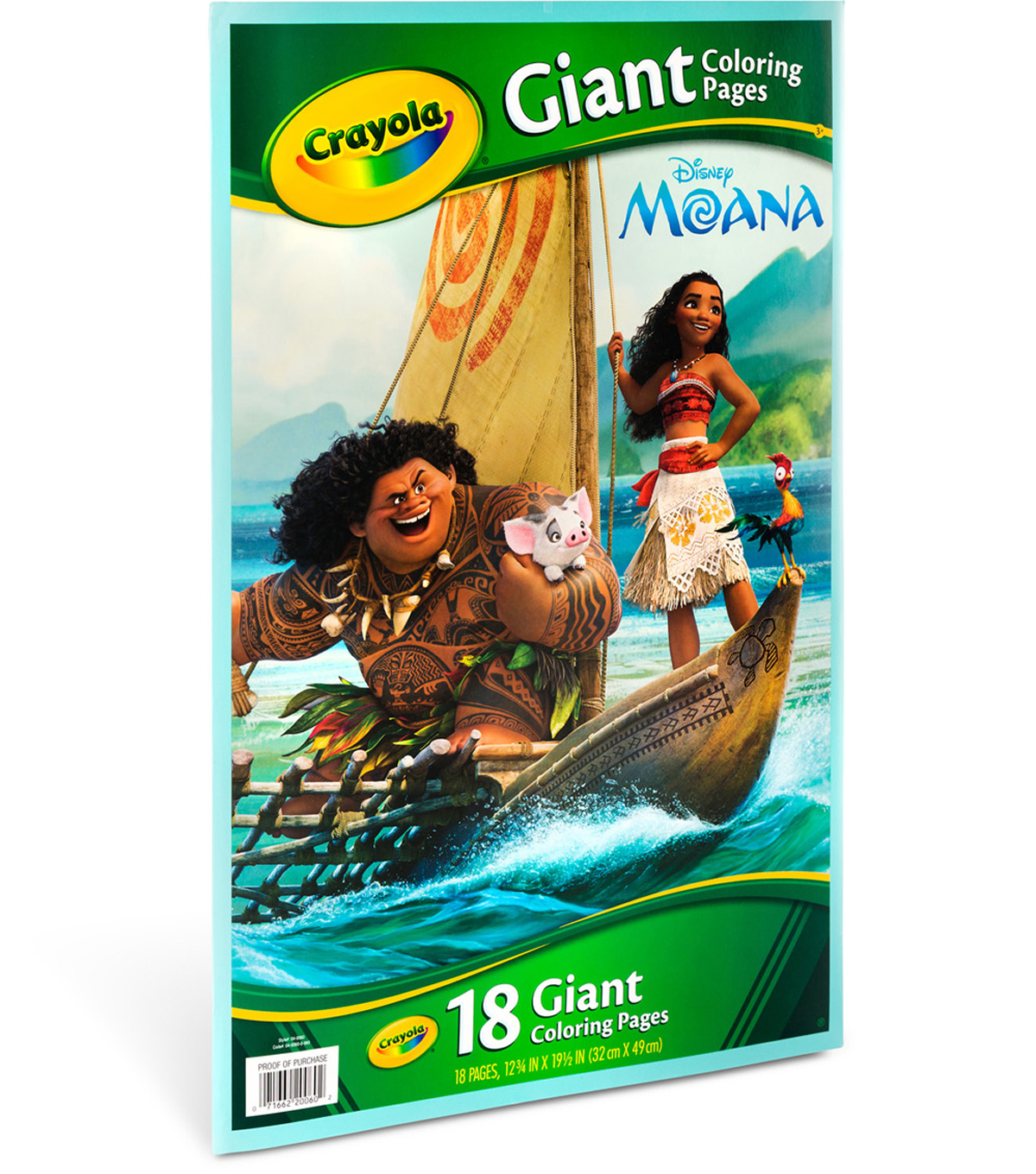 Crayola Giant Coloring Pages Moana Joann