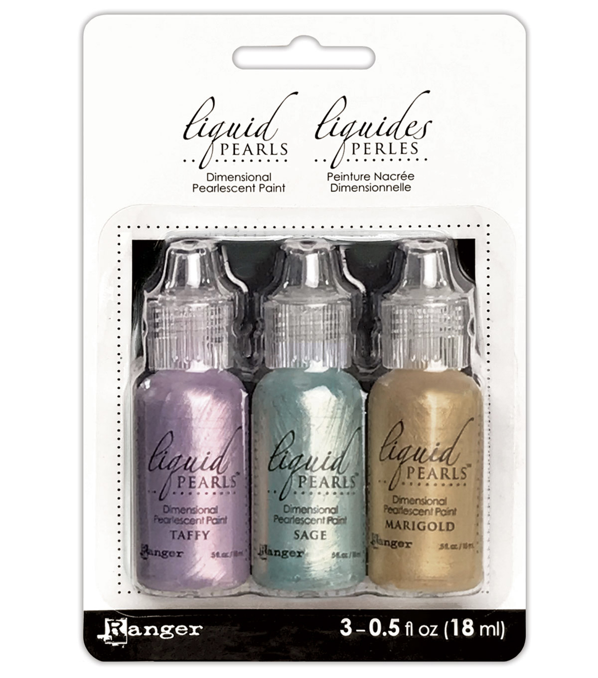 Ranger Liquid Pearls 3 pk 0.5 fl. oz. Paint
