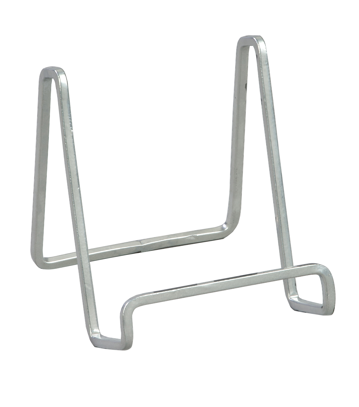 Silver Metal Square Wire Stand