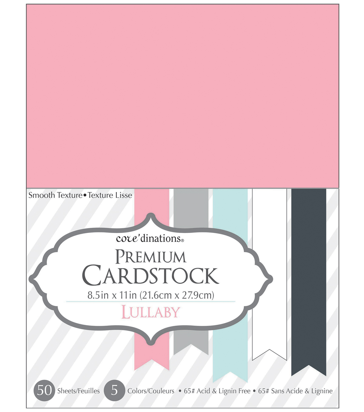 Core\u0027dinations Cardstock Lullaby