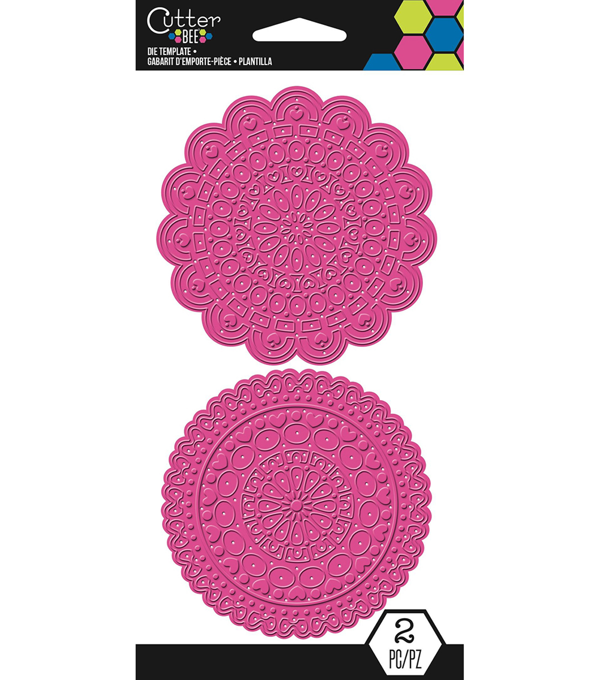 Cutter Bee Die Template-Doilies