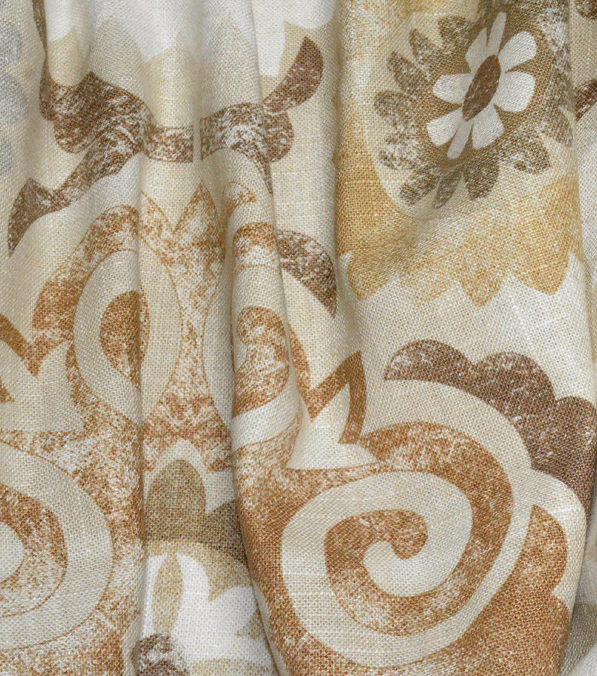Waverly Multi-Purpose Decor Fabric 54\u0027\u0027-Birch Captivated