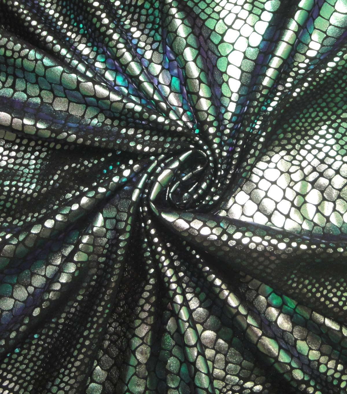 Cosplay by Yaya Han Stretch Fabric -Lizard Oil Slick Green