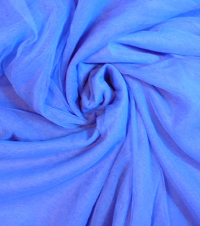 Casa Collection Tulle Fabric -Dazzling Blue