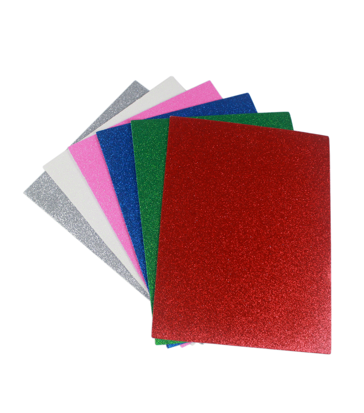 Glitter Sticky Back 9x12\u0027\u0027 Foam Value Pack