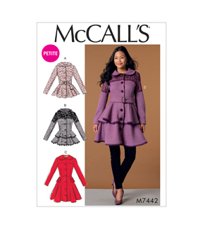 McCall\u0027s Misses Outerwear-M7442