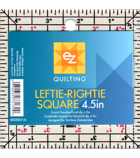 Leftie-Rightie 4.5 in Square