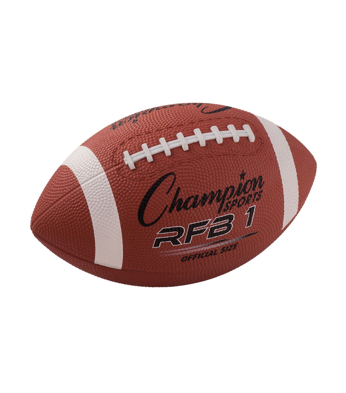 Champion Sports Official Size Rubber Football