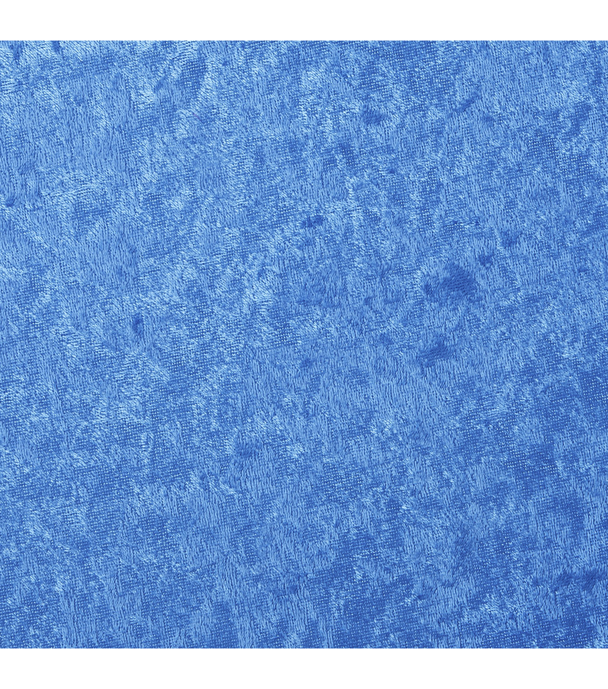 Glitterbug Crushed Panne Velvet Fabric, Princess Blue