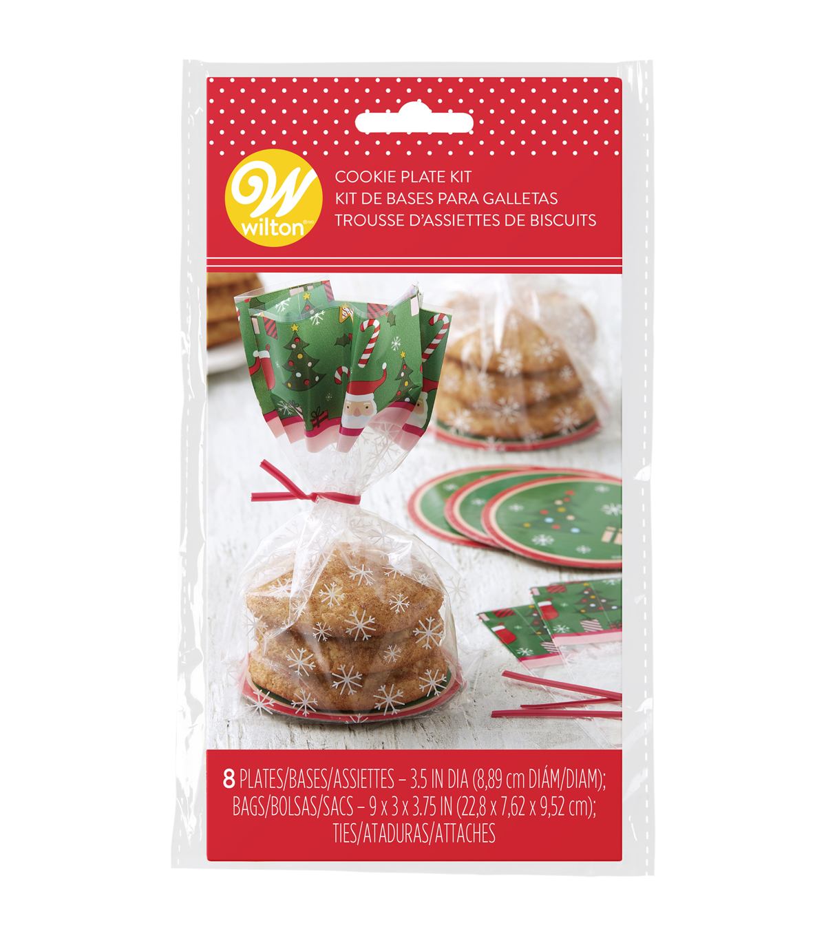 Wilton 8ct Mini Loaf Kit-Traditional