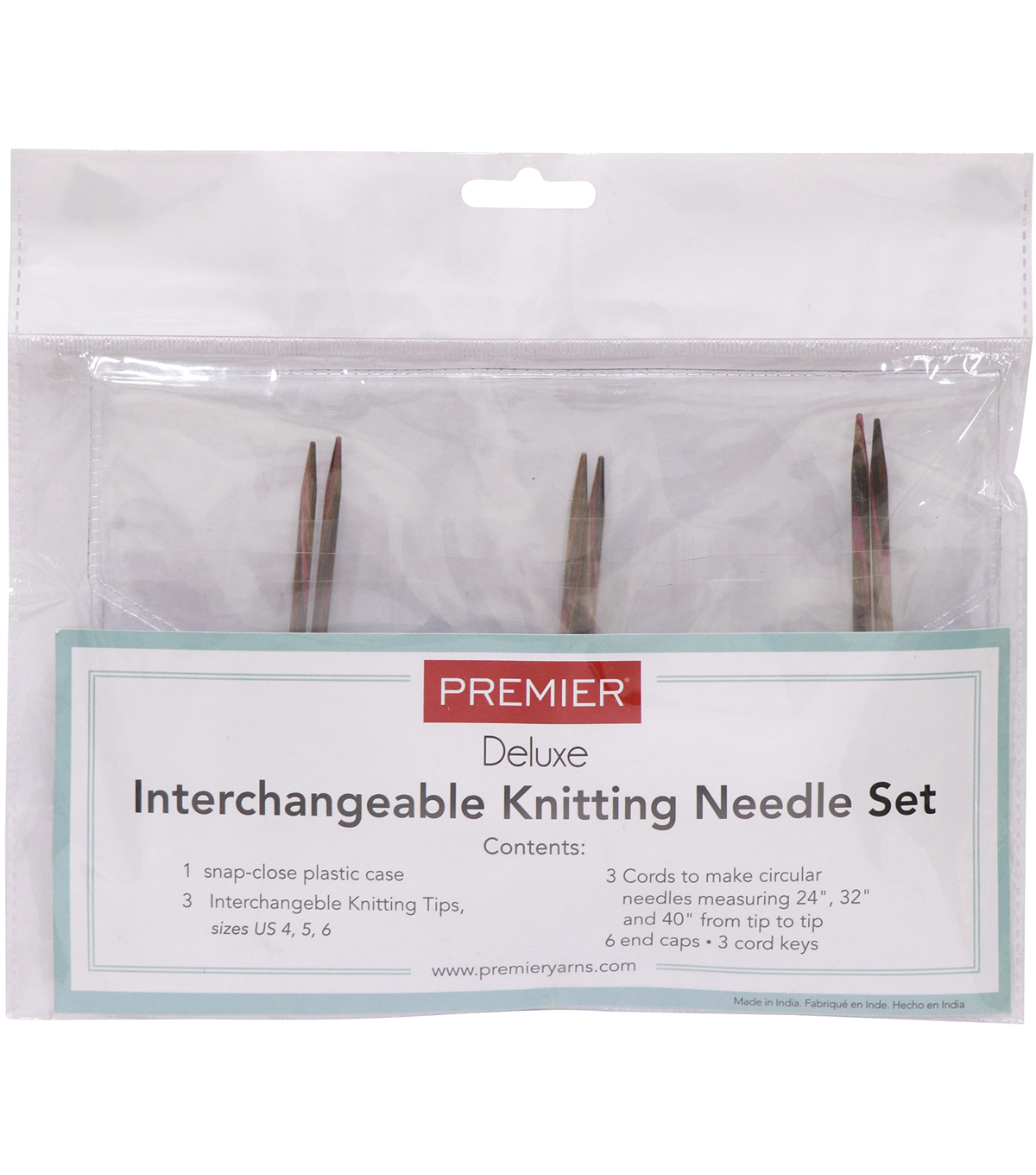 Premier Yarns Interchangeable Knitting Set-Sizes 4, 5 & 6