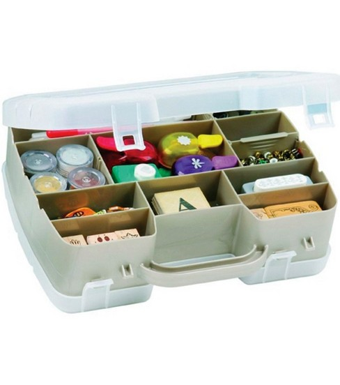 ArtBin Two-Sided Satchel Compartment Box