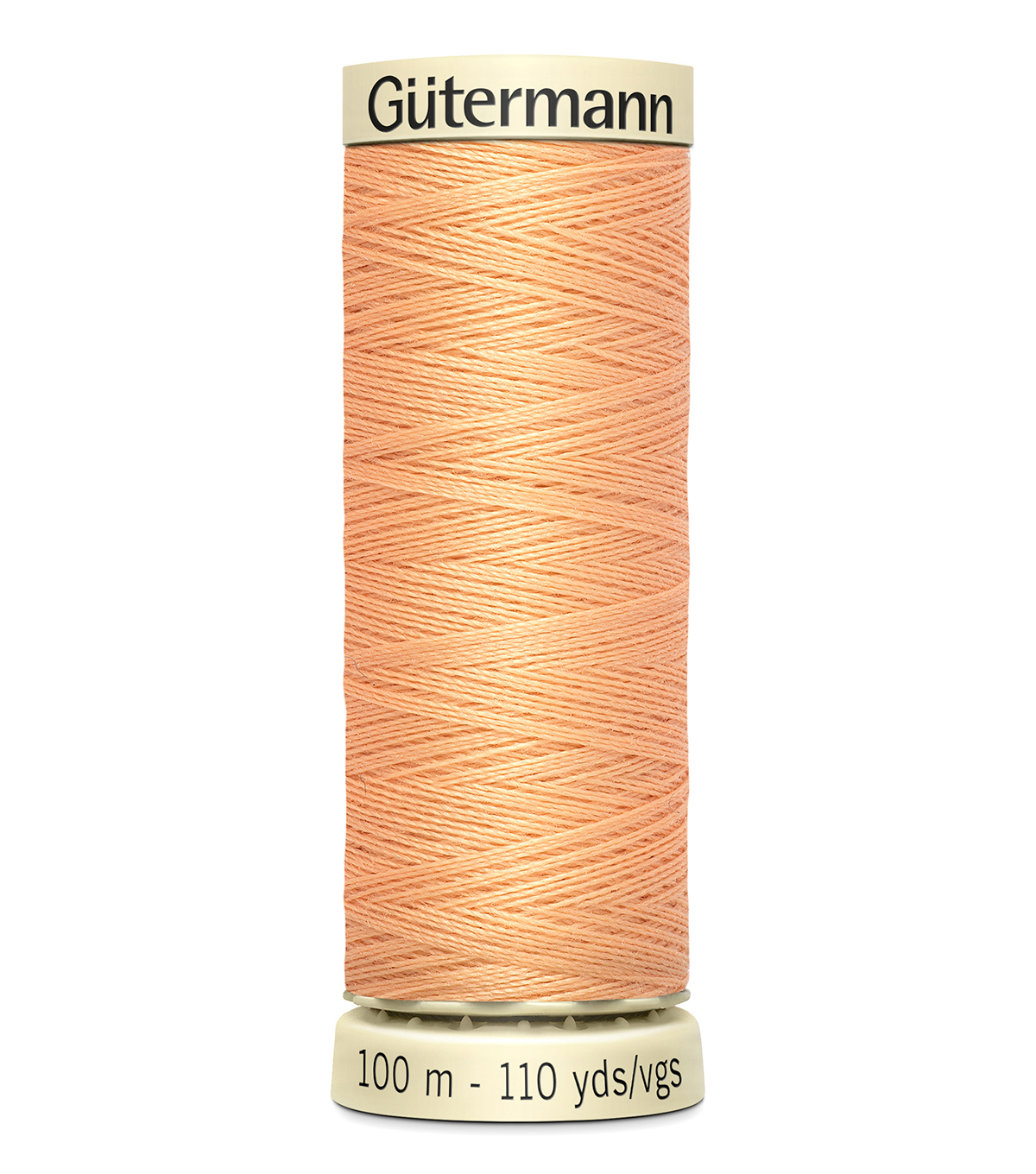 Gutermann Sew All Polyester Thread 110 Yards-Oranges & Yellows , Pwdr Peach