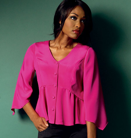 Butterick Women\u0027s Top-B5967