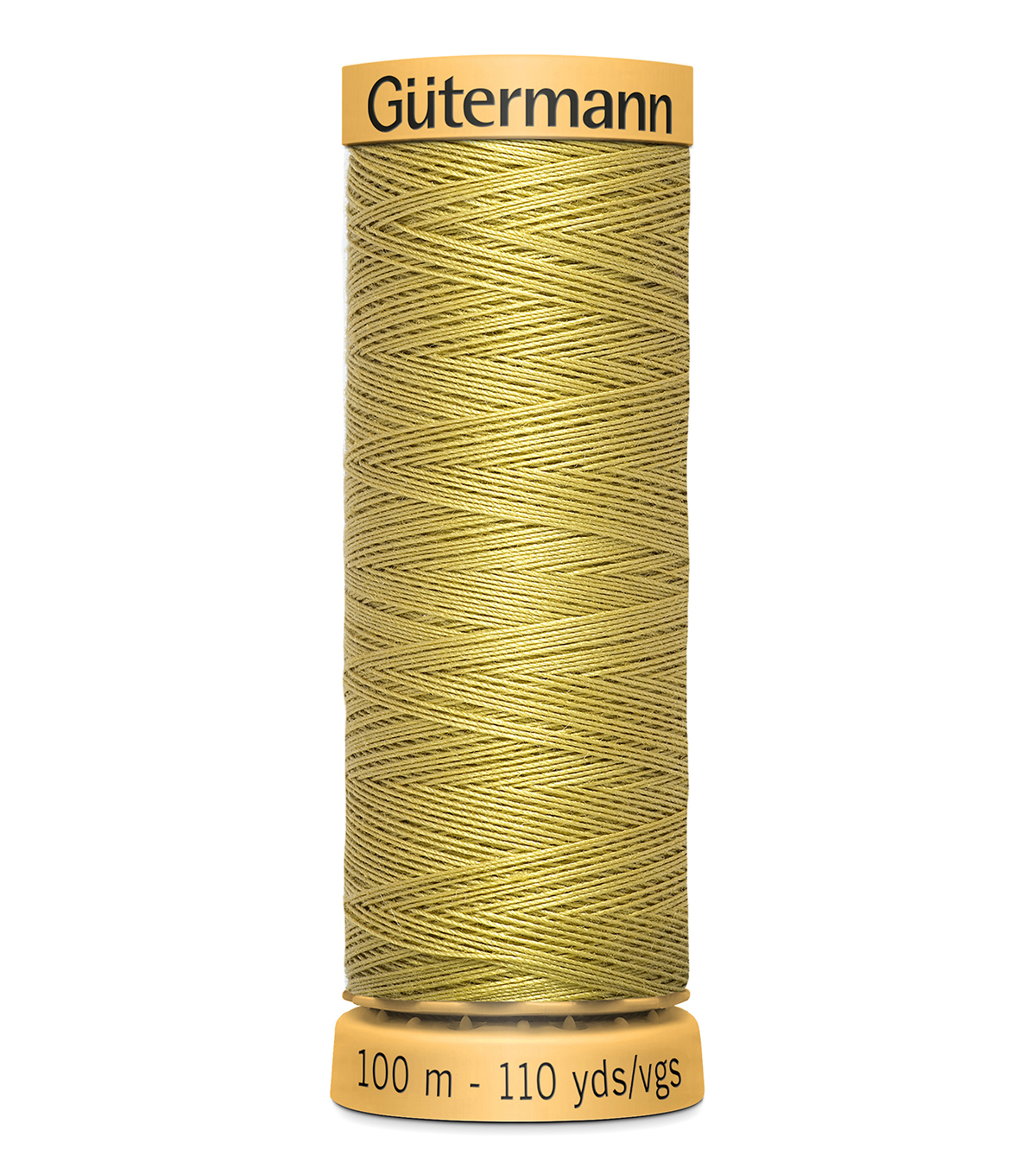 Gutermann Sew All Polyester Thread 110 Yards-Oranges & Yellows , Golden Wheat