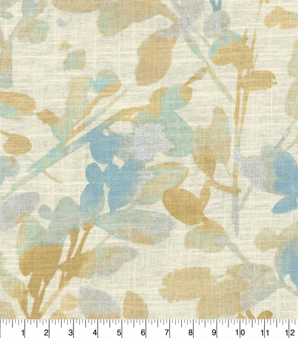 Home Decor 8\u0022x8\u0022 Fabric Swatch-Waverly Leaf Storm Mineral